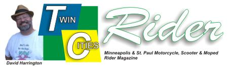 Twin Cities Rider First Issue David Harrington