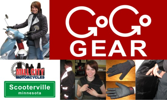 GoGo Gear at Scooterville and Mill City Motorcycles
