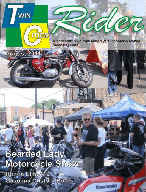 Twin Cities Rider August 2011 Bearded Lady Motorcycle Freak Show